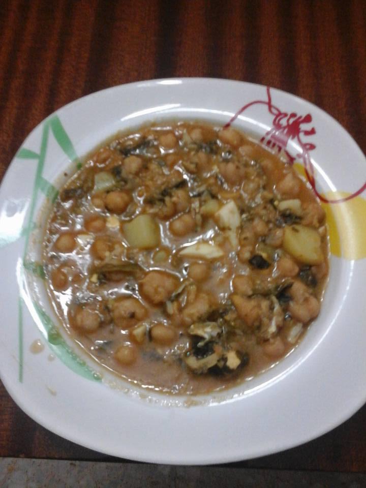 receta de garbanza