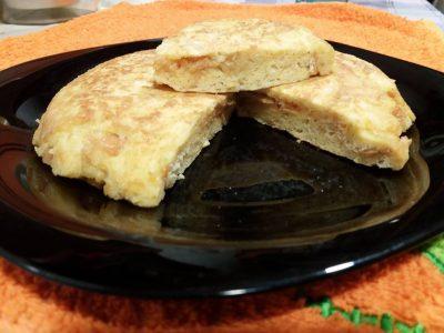 Tortilla de pan duro
